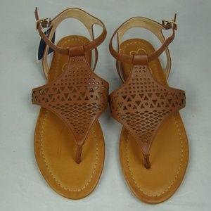 Jessica Simpson Flats Straps Sandals 8.5